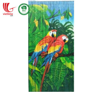 Art Bamboo Door Curtains Decor