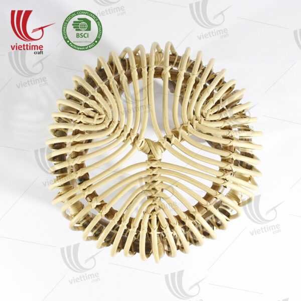 Leaf Leg Rattan Side Table Wholesale