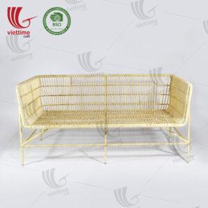 Relaxing Indoor Long Rattan Sofa Wholesale