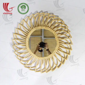 Sun Shaped Rattan Mirror Wholesale