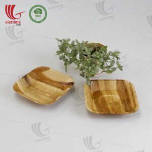 Collection Of Palm Leaf Disposable Tray