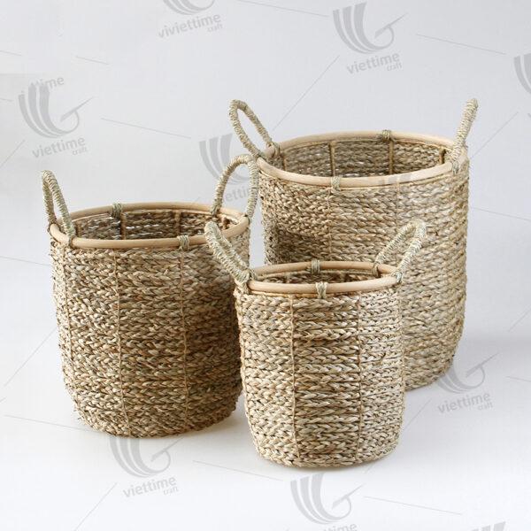 Seagrass Storage Basket sku C00534