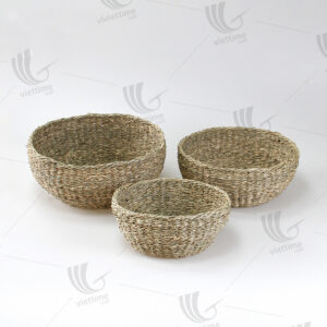 Seagrass Bowl Basket sku C00539