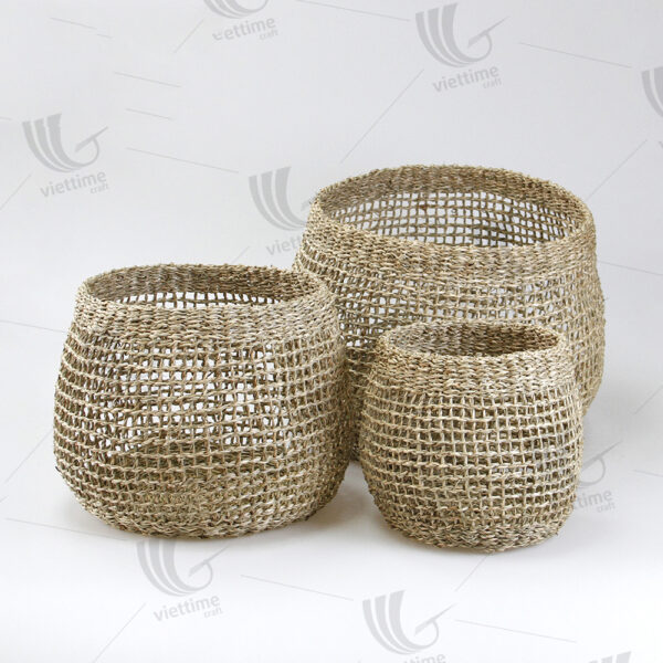Seagrass Pot Plant Holder sku C00538