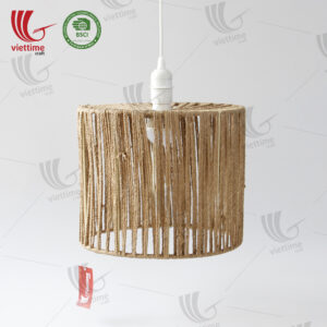 Round Jute Rope Lamp Shade