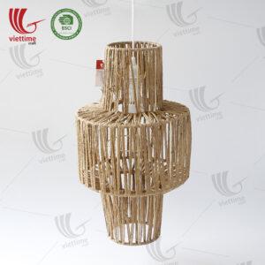 Vietnamese Jute Rope Lamp Shade