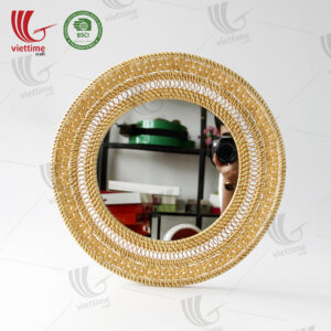 Best Design Round Rattan Mirror Wholesale