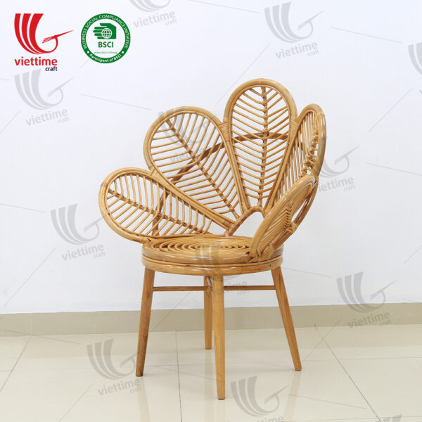 Flower Shaped Rattan Chair Wholesale