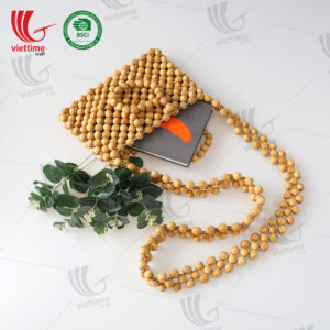 New Ideal Wooden Bead Bag Wholesale