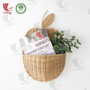Apple Rattan Hanging Basket Wholesale