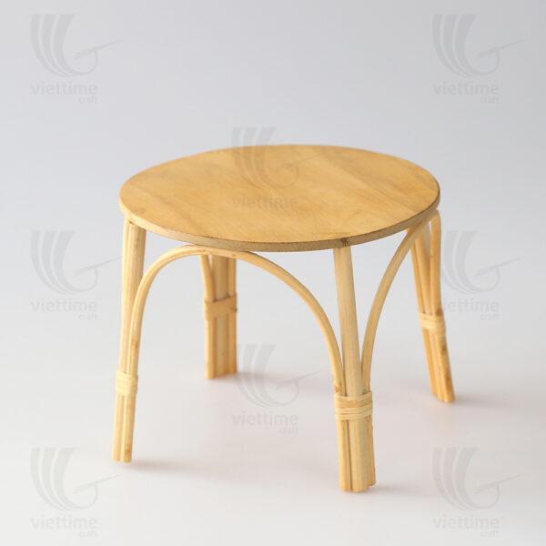 Rattan Doll Table sku M00651
