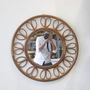 Rattan Mirror sku M00680