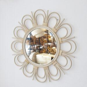 Rattan Mirror sku M00681