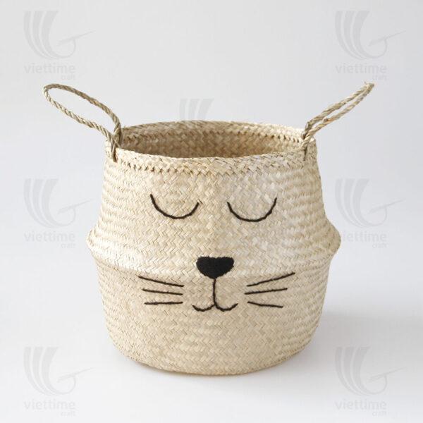 Seagrass Belly Basket sku C00366