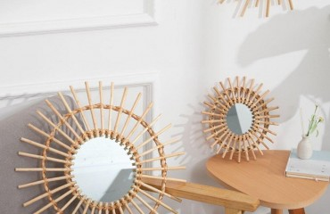 Creative ideas for decorating living spaces with rattan goods