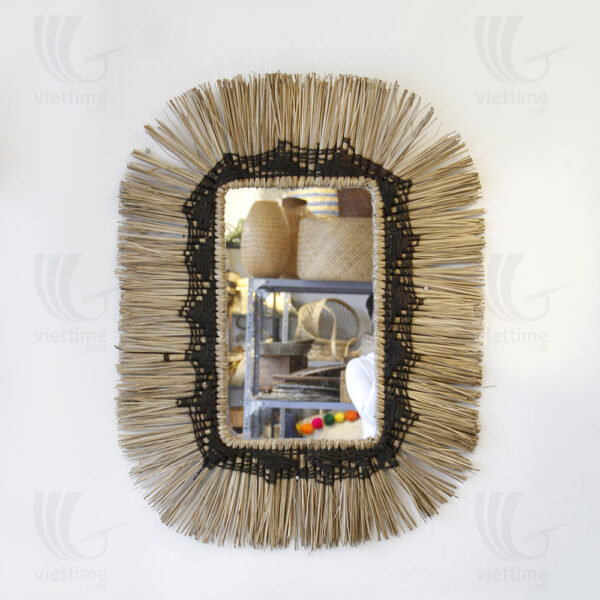 straw mirror sku C00018