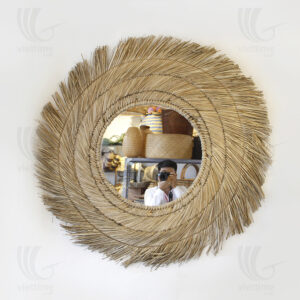 straw mirror sku C00422