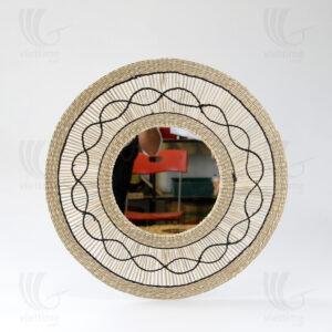 straw mirror sku C00434