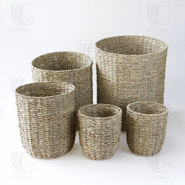 Seagrass Pot Plant Holder sku C00544