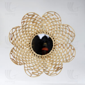 Water Hyacinth Mirror sku B00221