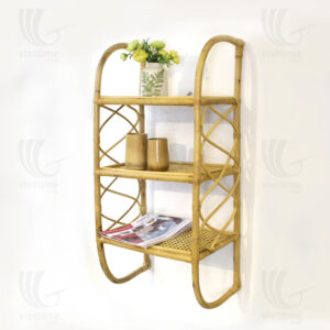 Rattan wall shelf sku M00435