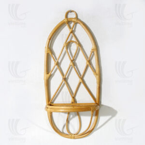 Rattan wall shelf sku M00436