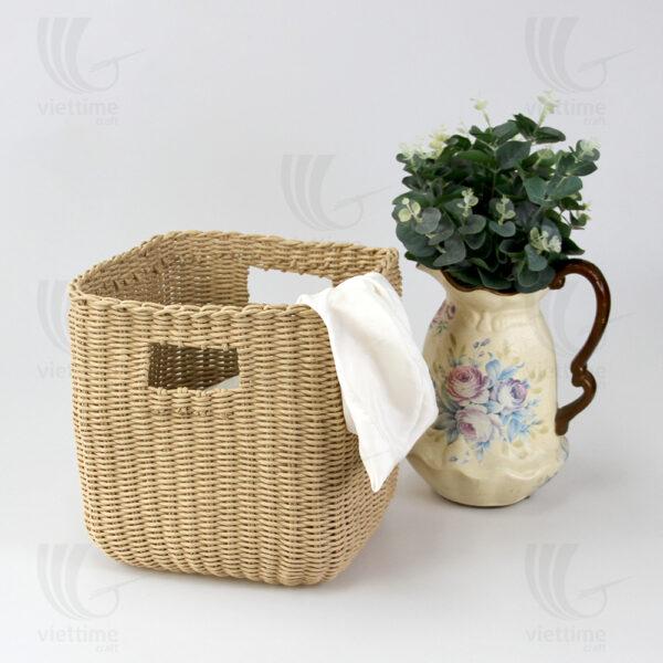 Recycled Paper Storage Basket sku GI0002