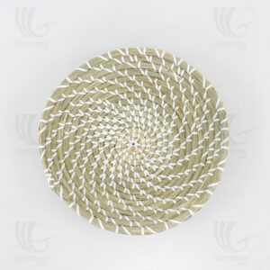 Seagrass Wall Decor Basket sku C00119