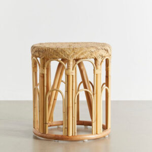 Rattan Side Table sku M00296