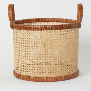 Rattan Storage Basket sku M00301