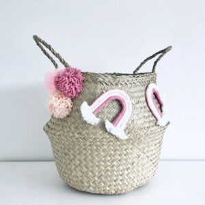 Seagrass Belly Basket sku C00067