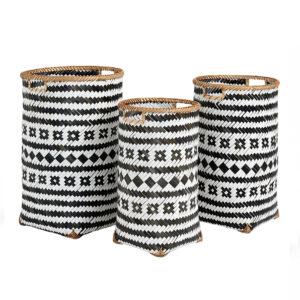 Bamboo Storage Basket sku TD00264