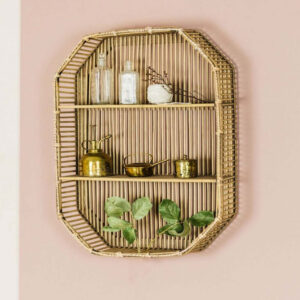 Bamboo Wall Shelf sku TD00269