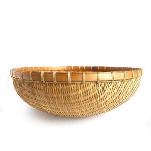 Bamboo Storage Basket sku TD00265
