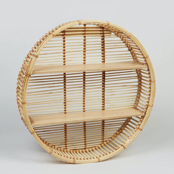 Bamboo Wall Shelf sku TD00270
