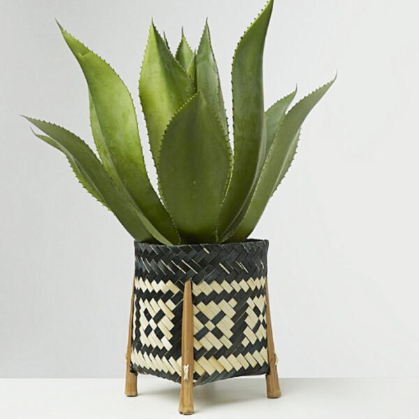 Bamboo Plant Stand sku TD00254