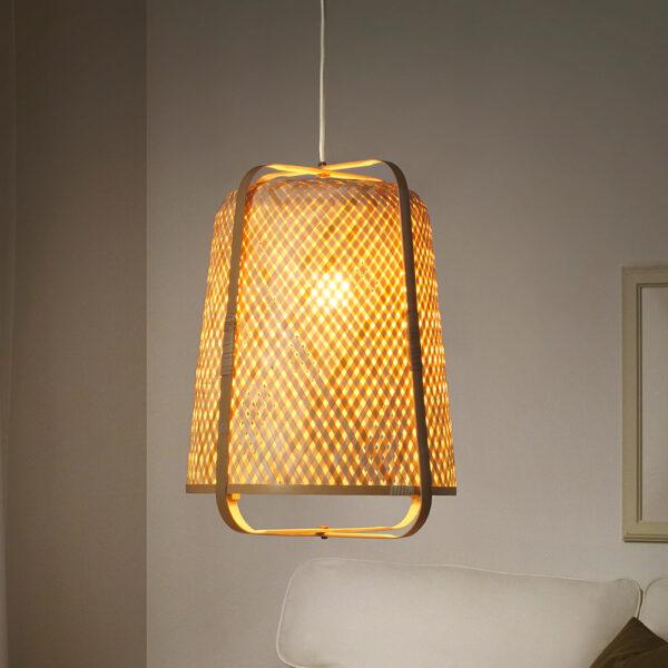 Bamboo Lampshade sku TD00255