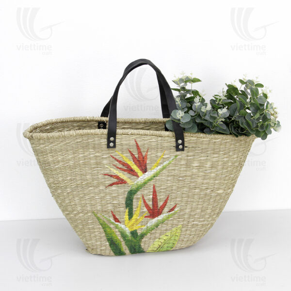 Seagrass Handbag sku C00117