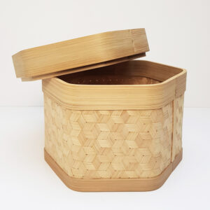 Bamboo Storage Container sku TD00244