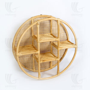Rattan wall shelf sku M00272