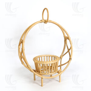 Rattan Hanging Plant Holder Sku M00268