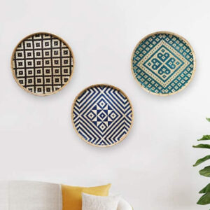 Bamboo Wall Decor Placemat sku TD00287