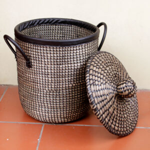 Seagrass Laundry Basket sku C00181